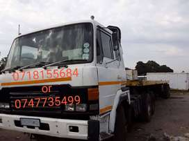 Hino, manual transmission, V8 engine double diff