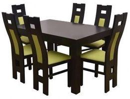 Zestaw Stół + 6 Krzeseł SAM WYBIERZ KOLOR I OBICIE!!