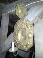świecznik pałacowy antyk
