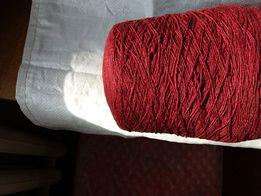 Нитки для вязания шерстяные, льняные, хлопковые, махеровые