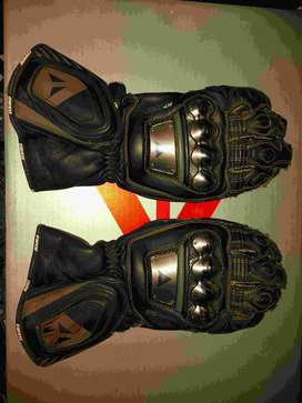 HJC helmet, Dainese gloves and boots, Icon leather jacket