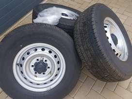 4 x Continental Tyre's with Ford Ranger Rims