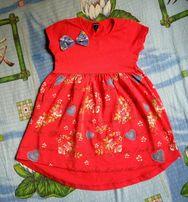 Продам трикотажное платьице