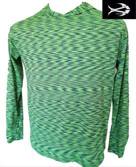 Sublimated Hoody Neon Green