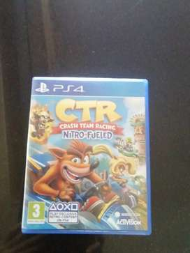 Ps4, crash team racing game for sale.