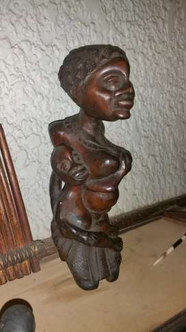 Authentic Central African Tribal Art