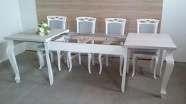 NOWOŚĆ! Stół duży, 340cm, prowansalski, nogi drewniane Ludwik, Vintage