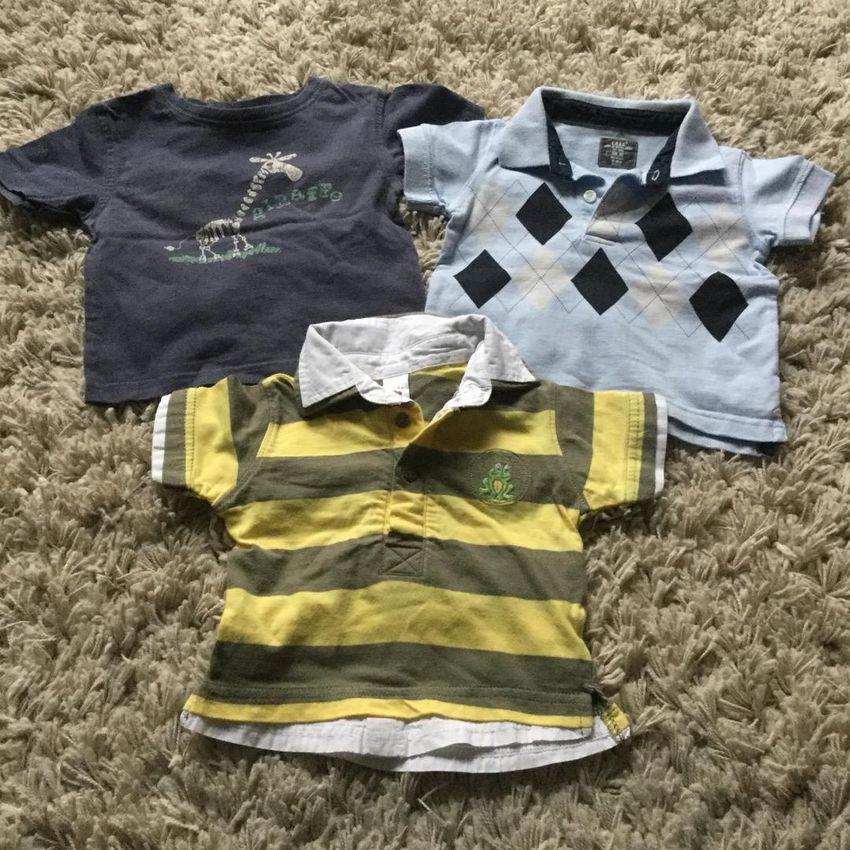 Set triček vel. 62 0