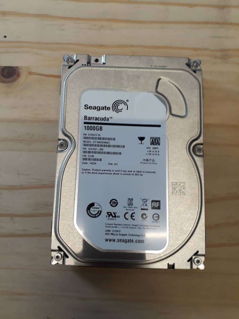 Hard Drives to let go for cheap 0