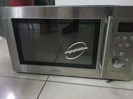 Murphy Richards stainless steel finish large microwave oven