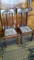 Krzesło salonowe, dębowe, antyki