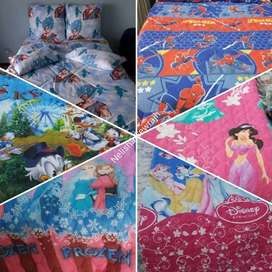 Kiddies cartoon character comforters