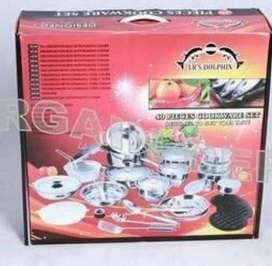 Brand New! 40 piece Cookware Set- German design Stunning Pots
