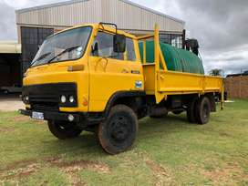 Isuzu SBR 422 Water car and Crane for Sale