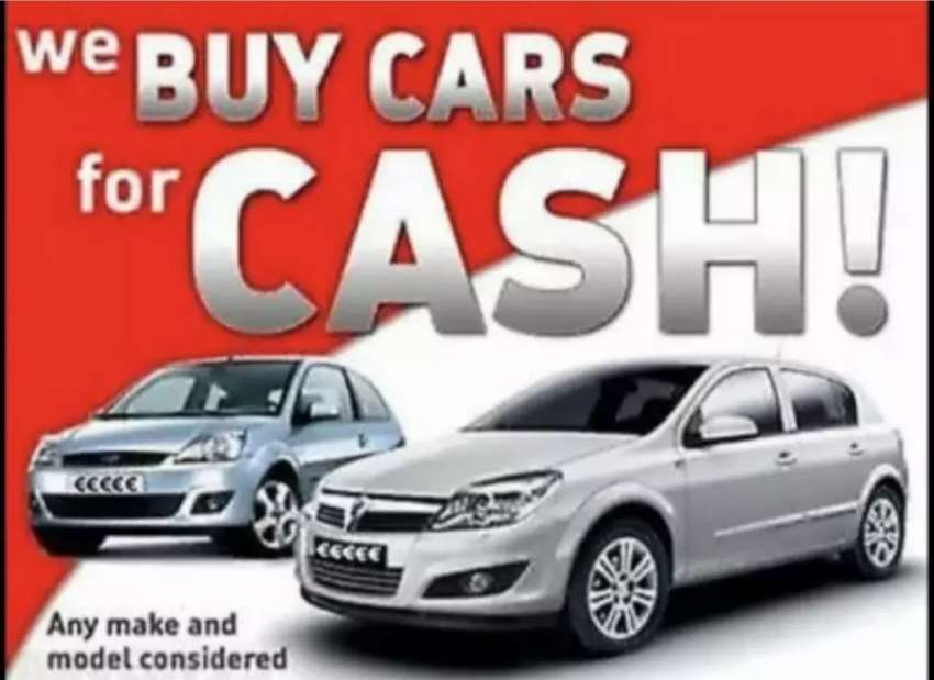 Cars and bakkies wanted. Cash paid! 0