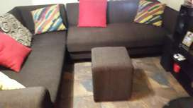 6 seater L shape couch for sale