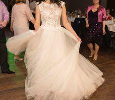 Suknia ślubna z kolekcji Justyny Kodym