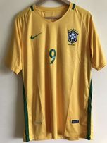Nike Brazil Gabriel Jesus XL Russia 2018 World Cup Qualifiers