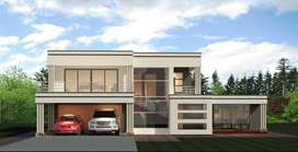 House Plan Flat Roof