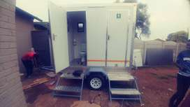 Mobile Vip toilets, freezers and more