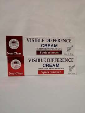 Neu Clear Visible Difference Spot Remover cream.
