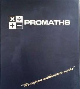 Vintage Promaths booklets with cassette tapes