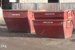 Wywóz gruzu,śmieci,kontenery 2,3,4,5,7(9)m3 Wrocław ceny