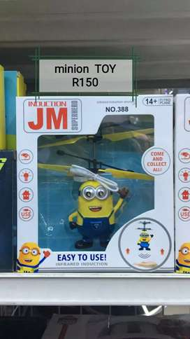 Jumping flying minion