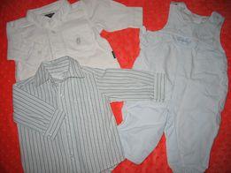 Koszula dla niemowlaka, chłopiec 62-68 Spodnie