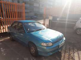 2001 hyundai accent xs 1.3 for dale