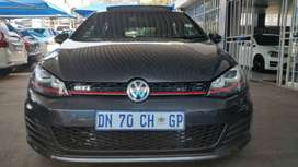2015 Golf 7 2.0 GTi  Engine Capacity with Automatic Transmission