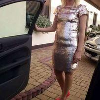 Sukienka cekiny łuski