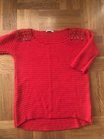 Swetr Strasivarius r 38 L folk boho nie zara roxy