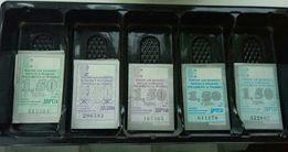 Коллекция счастливых билетов троллейбус/трамвай