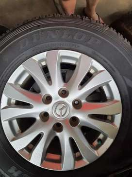 Mazda bt50 rims + tyres for sale