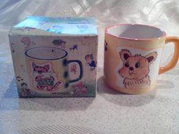 Чашка керамическая детская
