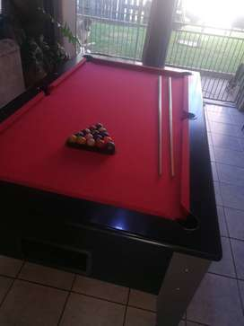Pool Table, Slate top, coin operated