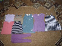 Zestaw ubrań na lato rozm 110-116 dla dziewczynki