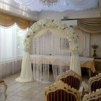Декор свадьбы, оформление свадебное, свадебная арка, выездная роспись