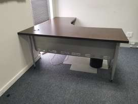 Office Desks, Chairs, Filling cabinets