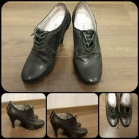 Туфли кожаные, ботинки, ботильоны женские Braska размер 37