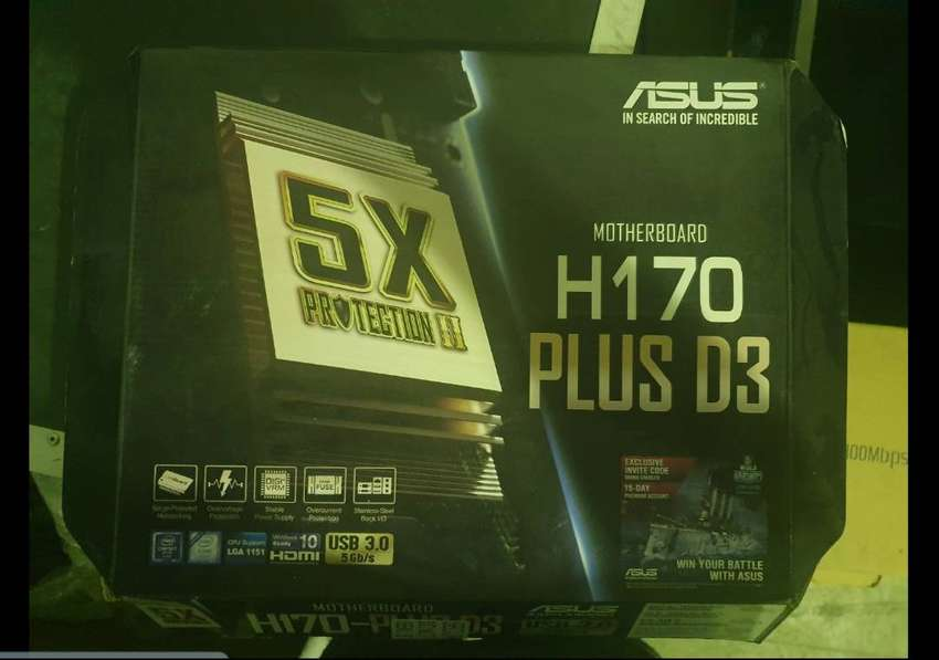 ASUS MOTHERBOARD FOR SALE 0