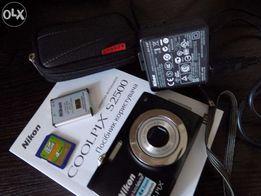 цифровой фот nikon coolpix s 2500 (чехол, карта памяти, инструкция,