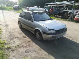 Ford Fiesta 1.6 now stripping for parts