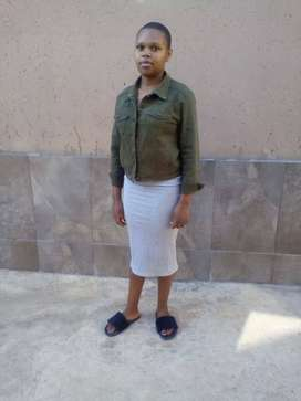 Active Lesotho maid and baby sitter desperately looking for sleep in