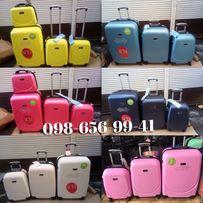 АКЦИЯ НА СКЛАДЕ чемодан дорожный пластиковый валіза сумка wings gravit