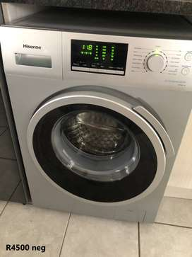 Hisense 8kg WFH8014S Front Loading Washing Machine