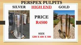 Silver And Golden High End Pulpits AT Great Prices