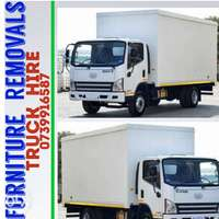 Image of Truck for hire 4 ton closed body