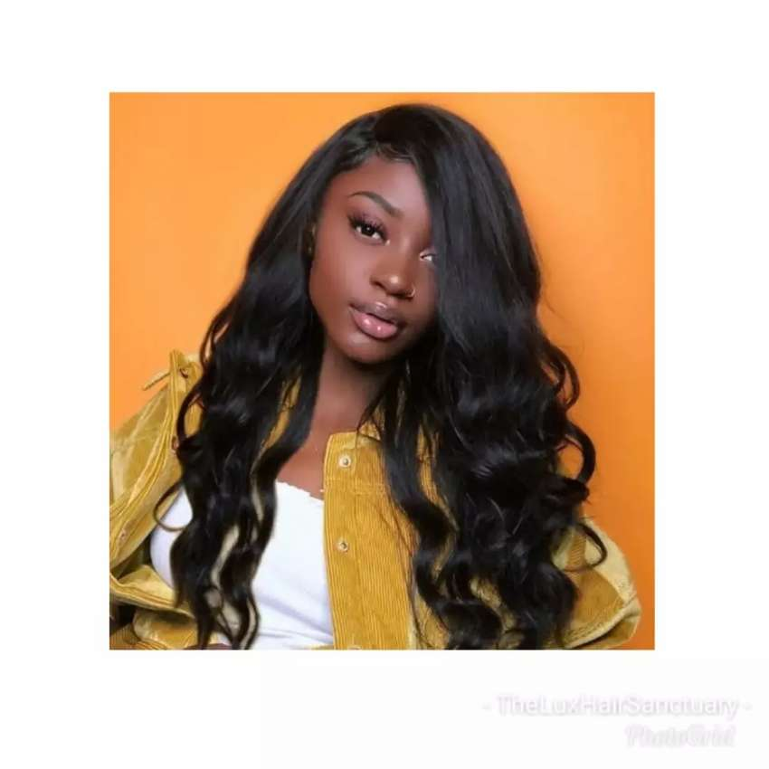 Body wave wig  with closure 0